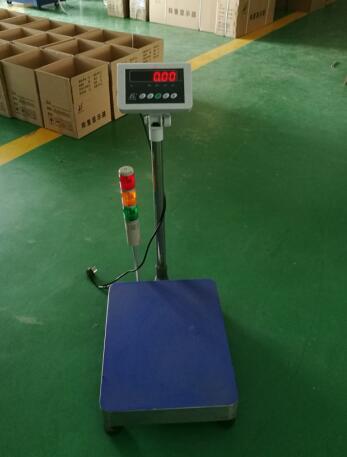 TCS-B10带报警灯电子台秤
